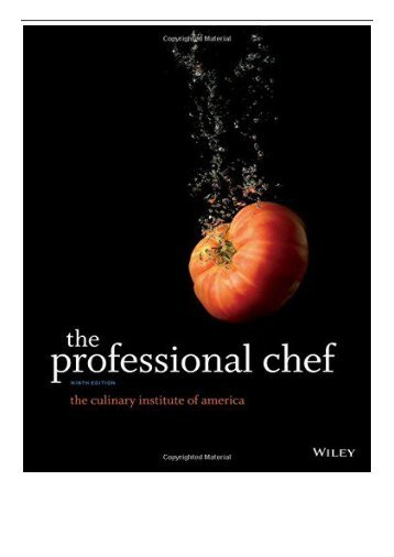 [PDF] Download The Professional Chef Full pages
