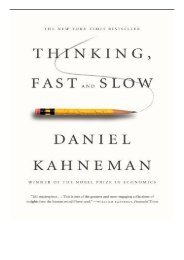 [PDF] Download Thinking Fast and Slow International Edition Full Ebook