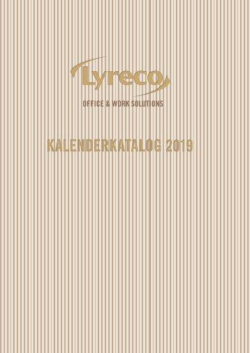 Kalenderkatalog 2019