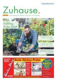 Zuhause. April 2018 | Das Magazin für Wohnen, Einrichten und Gestalten