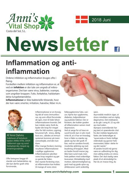 Inflammation og anti- inflammation