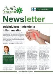 Tulehdukset - infektio ja  inflammaatio