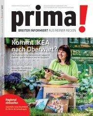 prima! Magazin – Ausgabe August 2017