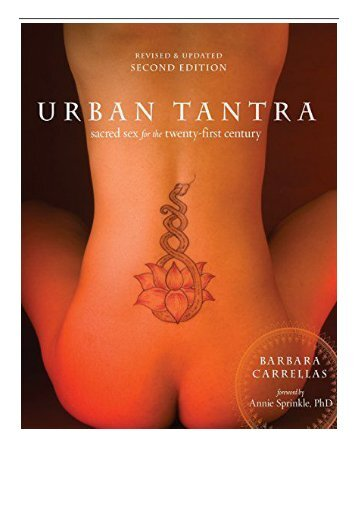 [PDF] Download Urban Tantra Sacred Sex for the Twenty-First Century Full Ebook