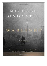 [PDF] Download Warlight Full pages