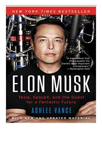 [PDF] Elon Musk Full Ebook
