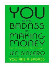 [PDF] Download You Are a Badass at Making Money Master the Mindset of Wealth Full pages