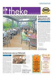 THEKE September 2017 | Der regionale Appetitmacher