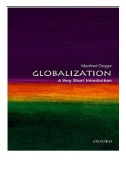 [PDF] Globalization A Very Short Introduction Very Short Introductions Full ePub