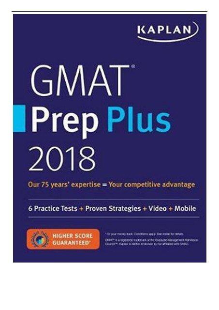 800 kaplan ebook gmat