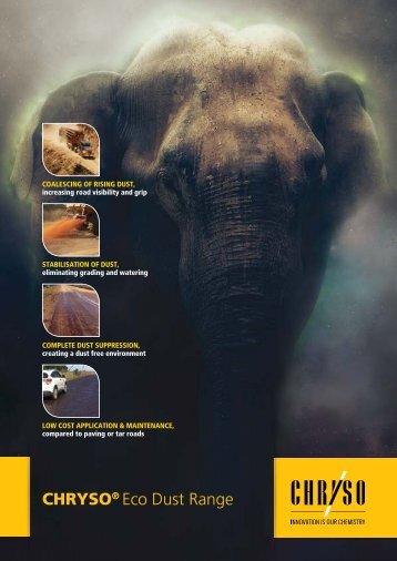 CHRYSO Eco dust Brochure online