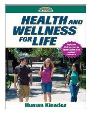 [PDF] Health and Wellness for Life Health on Demand Full Ebook
