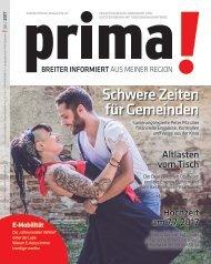 prima! Magazin – Ausgabe Juli 2017