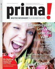 prima! Magazin – Ausgabe April 2017