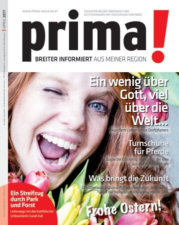 prima! Magazin – Ausgabe April 2017