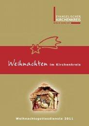 Weihnachten im Kirchenkreis - Berlin Nord - Ost