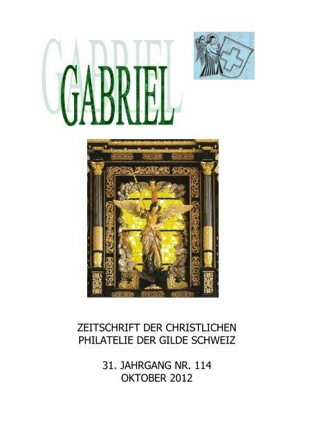 Bulletin-1-14 - Briefmarkengilde St. Gabriel Schweiz