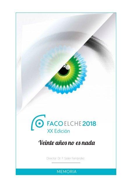 Memoria FacoElche 2018