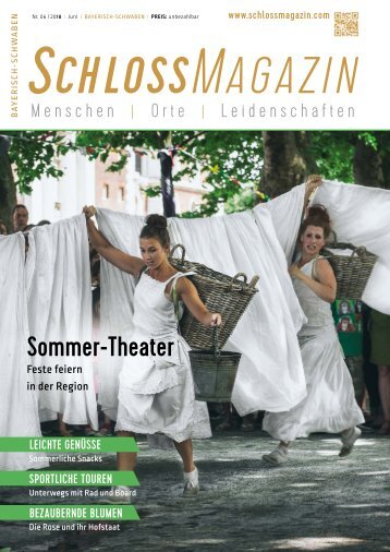 SchlossMagazin Bayerisch-Schwaben Juni 2018