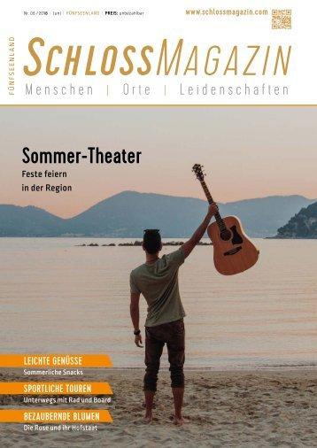 SchlossMagazin Fünfseenland Juni 2018