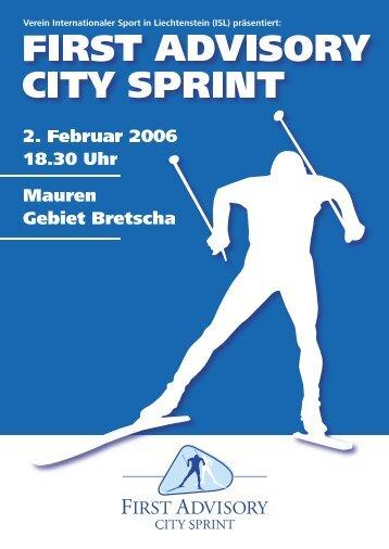 Die Alternative: Liewo. - First Advisory City Sprint