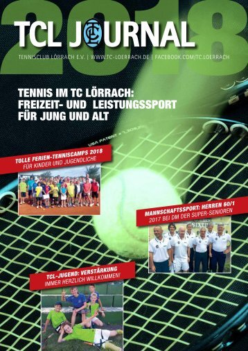 Tennisclub Loerrach e.V._ Journal 2018