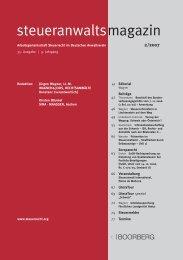 Ausgabe 02/2007 - Wagner-Joos Rechtsanwälte