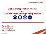 Trends in Global Transportation Pricing Vs OTM Advanced