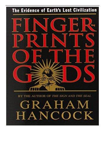 eBook Fingerprints of the Gods Free online