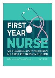eBook First Year Nurse Kaplan Test Prep Free books