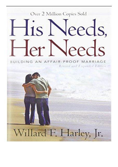 His Needs Her Needs Ebook