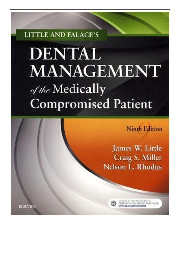 eBook Little and Falace's Dental Management of the Medically Compromised Patient 9e Free online