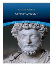 eBook Meditations Dover Thrift Editions Free online