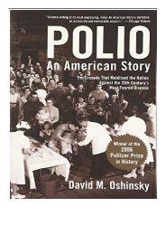 eBook Polio An American Story Free eBook