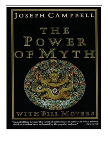 eBook Power of Myth Free online