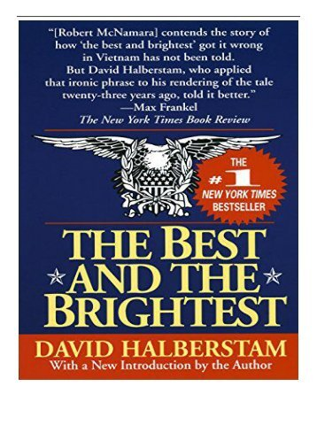 eBook The Best and the Brightest Free books