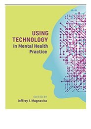 eBook Using Technology in Mental Health Practice American Psychological Associa Free online