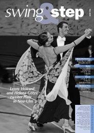 Lenny Howard und Helena Götze: zweiter Platz in Neu-Ulm - DTV