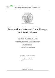 Interactions between Dark Energy and Dark Matter - International ...