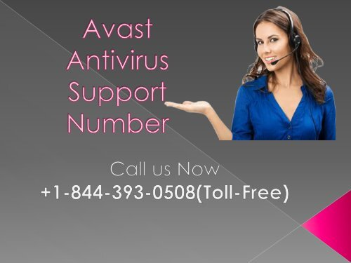 Avast Antivirus Support Number PPT (1)