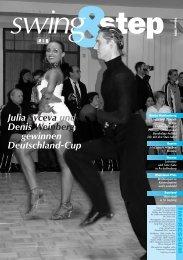 Julia Syceva und Denis Weinberg gewinnen Deutschland-Cup - DTV