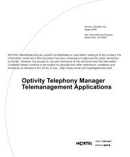 Optivity Telephony Manager Telemanagement ... - BT Business