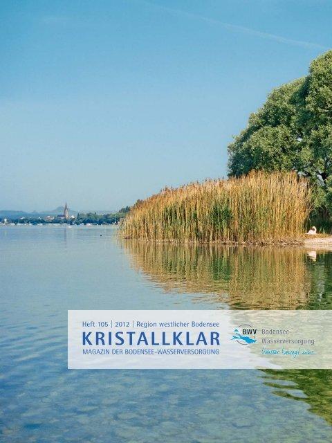 Kristallklar - Zweckverband Bodensee-Wasserversorgung