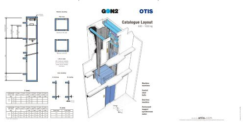 Catalogue Layout - Otis Elevator Company
