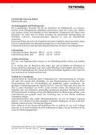 Tetenal Hilfsmittel Produktinformationen Seite Lichtschutzlack 2 ... - Page 2