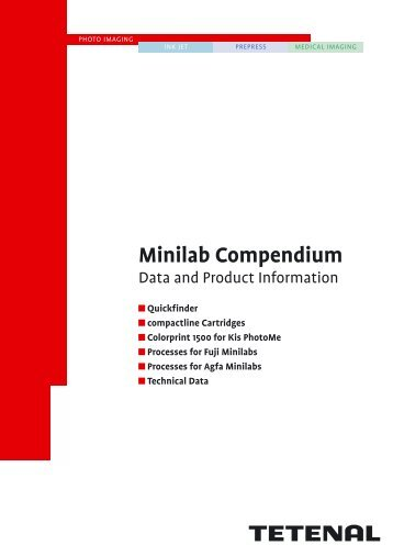 Tetenal Minilab Compendium