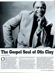 The Gospel Soul oi Otis Clay - Opal Nations