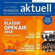 Bayreuth Aktuell Juni 2018