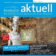Bayreuth Aktuell Mai 2018