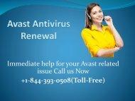 Avast Antivirus Renewal